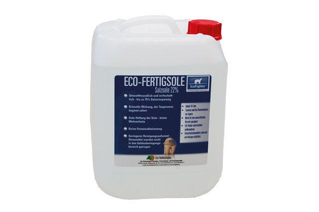 Winterdienst:                     Eco - Fertigsole NaCl 22 % 10 L