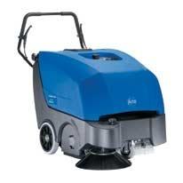 Kehrmaschinen: Nilfisk - Floortec 560 P