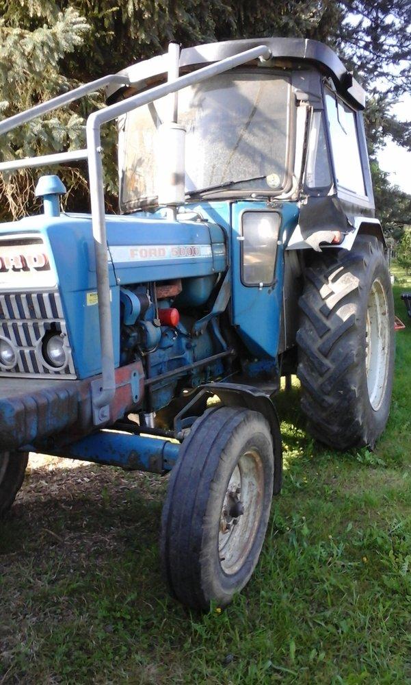 Gebrauchte                                          Traktoren:                     Ford - Ford 5000 Traktor mit Druckluftanlage (gebraucht)