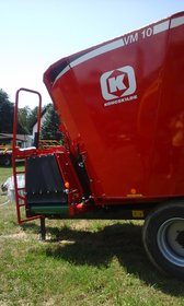 Fütterungstechnik:                         Kongskilde - Futtermischwagen VM 10 *NEU*