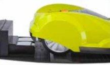 Der Mähroboter fährt automatisch zur Ladestation, sobald der Akku aufgeladen werden muss.