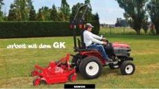 Kompakttraktoren: Yanmar - GK 160 mit Rasenbereifung