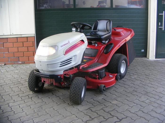 Gebrauchte                                          Aufsitzmäher:                     Gutbrod - GLX 105 RHL (gebraucht)