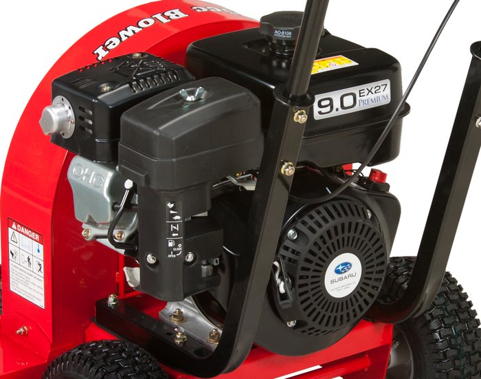 leistungsstarke Motoren -  Die Subaru Motoren sorgen für viel Power bei hohem Drehmoment und lassen sich auch nach langer Standzeit leicht anwerfen.
