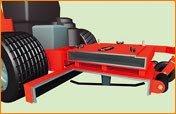 Robustes, 14 cm tiefes Mähdeck aus Stahl liefert den optimalen Luftstrom zum Auswerfen des Schnittgutes.