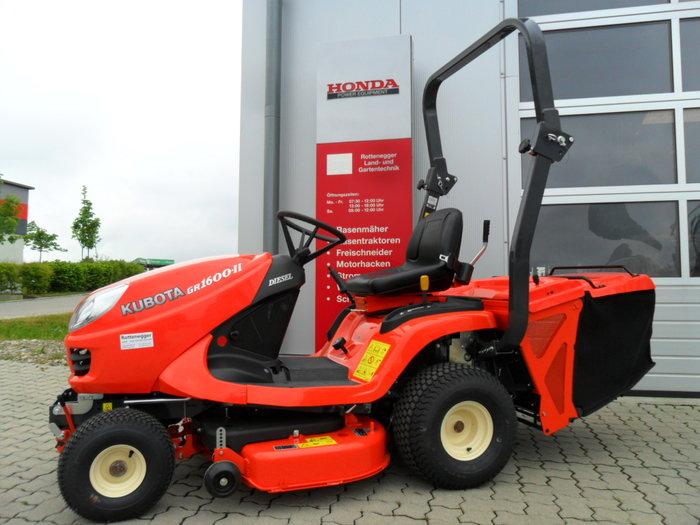 Gebrauchte                                          Gartentraktoren:                     Kubota - GR 1600-II (gebraucht)