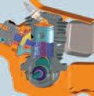 Kurbelgehäuse ist mit Frischluft gefüllt, Kraftstoffeinlassventil dosiert Kraftstoff