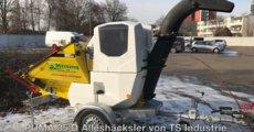 Mieten  Gartenhäcksler: TS Industrie - GS Puma 35 D Alleshäcksler (mieten)