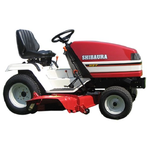 Kommunaltraktoren:                     Shibaura - GT161 Gartentraktor Sitzmäher