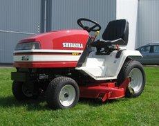 Rasentraktoren: Shibaura - GT161 (Grundmaschine ohne Mähwerk)