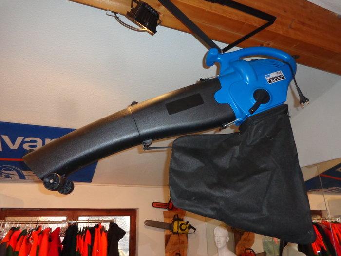 """""""Brennholzsägen-Weihnachts-Dream-Deal"""" = Elektro Laubsauger / Laubbläser GRATIS - superpraktisch für die komfortabel-effektive Laubbeseitigung ums Haus und im Garten !!*"""