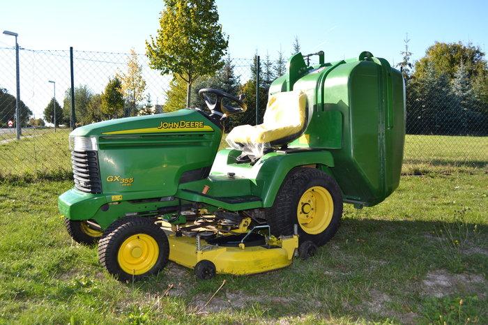 Gebrauchte                                          Aufsitzmäher:                     John Deere - GX 355 Diesel (gebraucht)