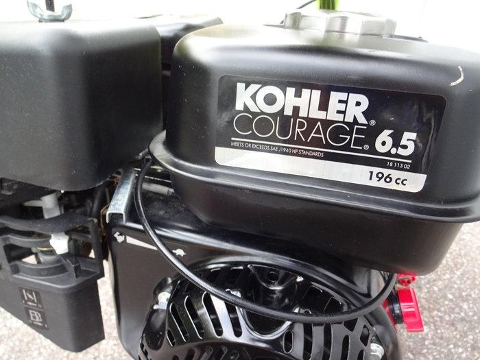 Profi Motor mit massiver Leistung und Drehmoment Kohler  Courage 6.5 Series OHV  Hubraum 196 cc 5.6 PS (4.1 kW)