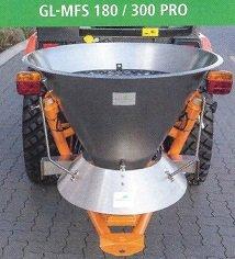 Streutechnik: Gartenland - Gartenland Düngerstreuer Anbaustreuer Salzstreuer GL MFS180Pro 1298,00 €