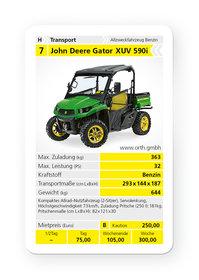 Mieten  Allzwecktransporter: John Deere - Gator XUV 855D (mieten)