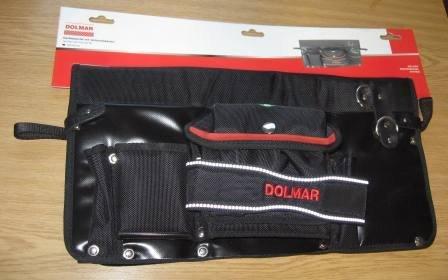 Zubehör:                     Dolmar - Gerätetasche mit Verbandskasten