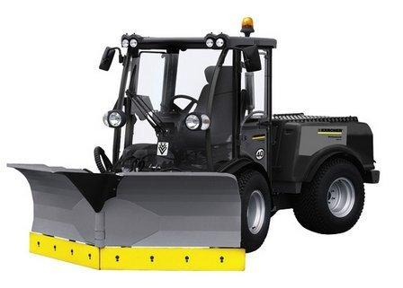 Kommunalfahrzeuge:                     Kärcher - Geräteträger MIC 84