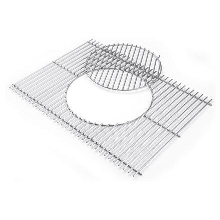 Grillzubehör:                     Weber-Grill - Gourmet BBQ System - Grillrost mit Grillrosteinsatz Art.Nr. 7586