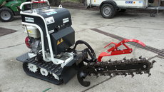 Mieten  Bodenbearbeitungsmaschinen: Garbin - Grabenschlitzfräse Garbin TZa (mieten)