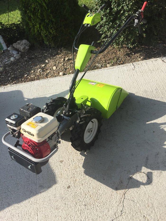 Gebrauchte                                          Motorhacken:                     Grillo - Grillo G46 Bodenfräse (gebraucht)