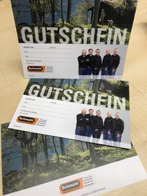 Angebote Gutscheine: SCHMAHL - Gutschein 25,00 EUR (Aktionsangebot!)