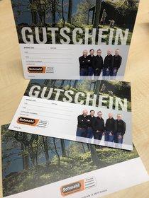 Angebote Gutscheine: SCHMAHL - Gutschein 50,00 EUR (Aktionsangebot!)