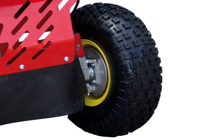 Vorderradbremse -  Durch die zusätzliche Vorderradbremse sind auch steile Bergabfahrten jederzeit kontrollierbar.