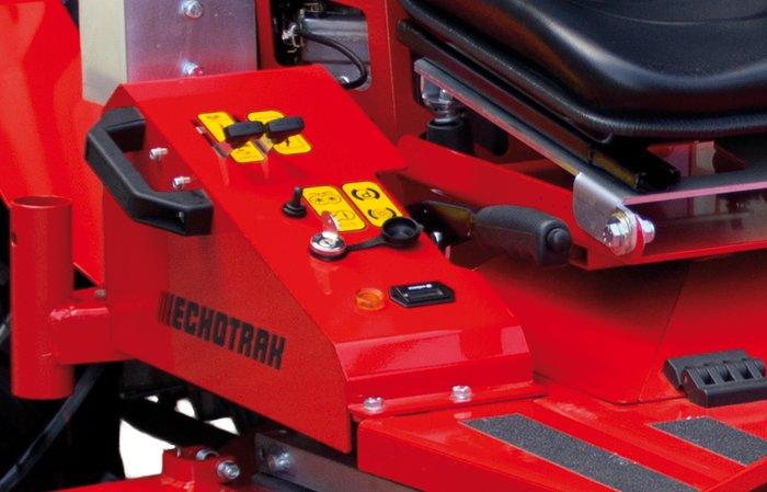 Bedienelemente -  alle Bedienelemente sind ergonomisch angeordnet und somit leicht erreichbar.