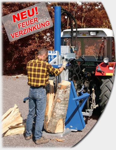 Holzspalter:                     Binderberger - H20 E