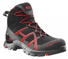 Arbeitskleidung: HAIX - HAIX Black Eagle Safety 40 Mid black/red