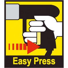Die Easy-Press Handspritzpistole ist mit einer ergonomisch geformten Softgrip Einlage ausgestattet. Dadurch reduzieren sich die Halte- und Abzugskräfte auf ein Minimum und ermöglichen ein angenehmes und ermüdungsfreies arbeiten mit einem Kärcher Gerät.