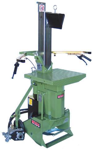 Holzspalter:                     Widl - HF-105/Z Zapfwelle (Spalter ohne Zubehör 16.190)