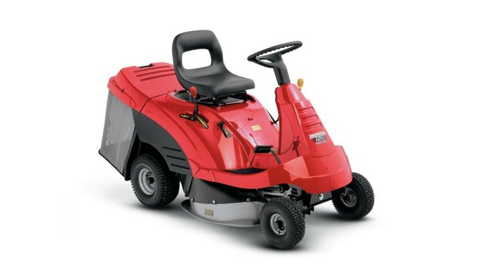 Gebrauchte                                          Aufsitzmäher:                     Honda - HF 1211 H (gebraucht)
