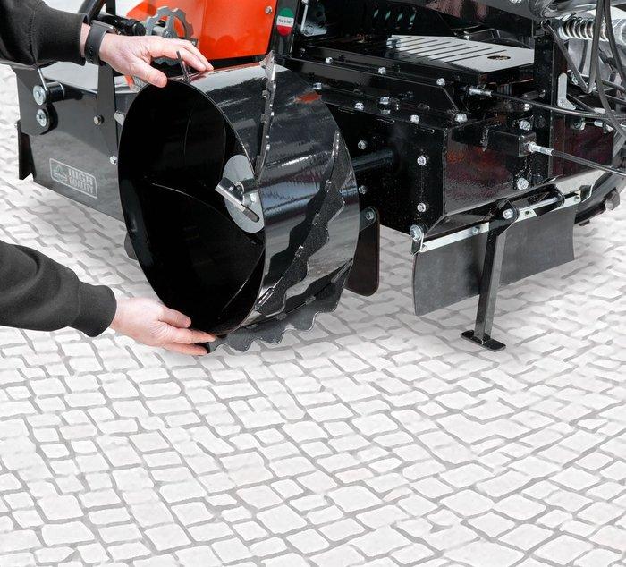 Optionale Stahlräder werkzeuglos