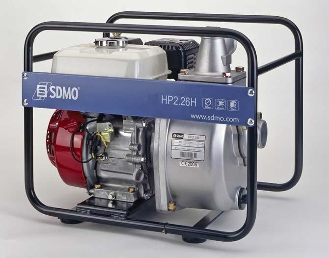 Frischwasserpumpen:                     SDMO - HP 2.26 H