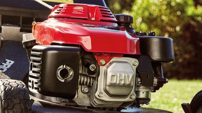 Professionelle Motoren mit hervorragender Leistung  Alle HRH-Rasenmäher werden von einem Honda GXV 160 Profi-Motor angetrieben. Professionelle Leistung für einen wirklich professionellen Rasenmäher.
