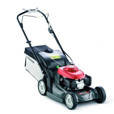 Gebrauchte                                          Benzinrasenmäher:                     Honda - HRX 476C VK (gebraucht)