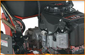 Kawasaki 15 PS V-Twin-Motor