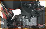 Kawasaki 17 PS V-Twin-Motor