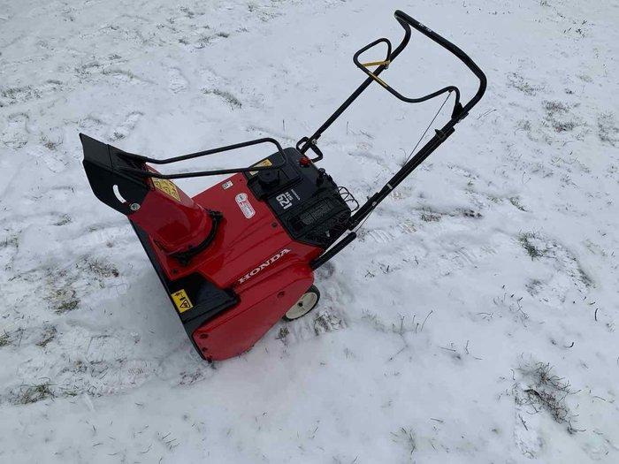 Gebrauchte                                          Schneefräsen:                     Honda - HS621 (gebraucht)