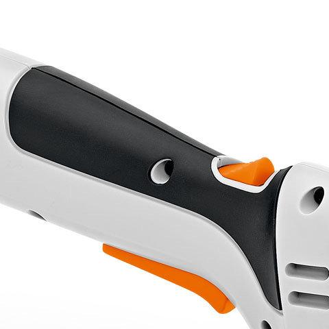 Softgriff  Dank des ergonomischen und gummierten Griffs liegt die HSA 25 sicher und angenehm in der Hand.