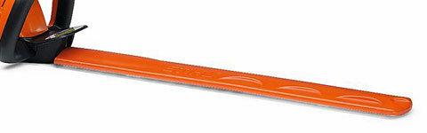 Messerschutz  Zum Schutz der Schneidmesser und für den sicheren Transport sind beide Akku-Heckenscheren mit einem Messerschutz ausgestattet. (Abb. ähnlich)
