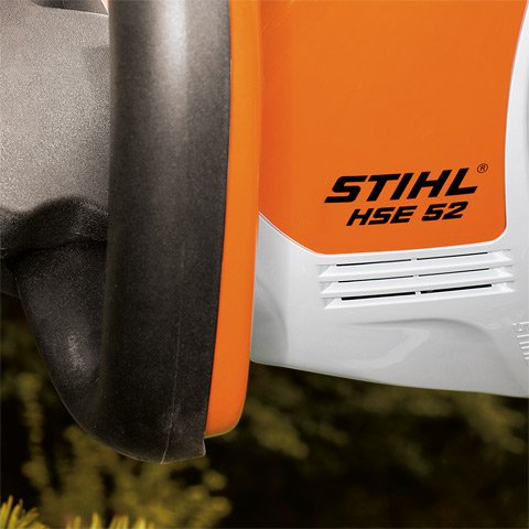 Kraftvoller Motor  Die neuen Elektro-Heckenscheren sind dank der höheren Leistung – 420 W (HSE 42) und 460 W (HSE 52) – im Vergleich zu den Vorgängermodellen noch vielseitiger einsetzbar. Ganz gleich, ob Sie damit Hecken schneiden, Büsche trimmen oder Ihren Nachbar beeindrucken wollen.