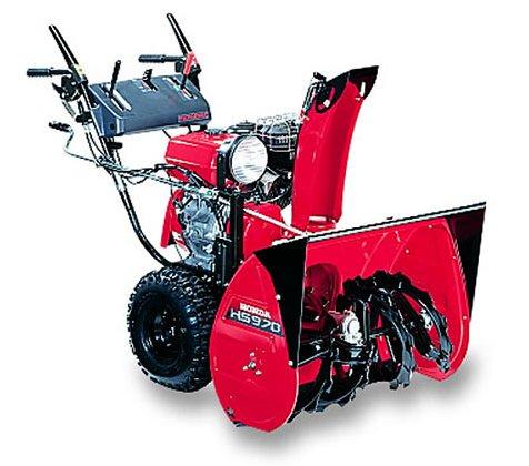 Angebote                                          Schneefräsen:                     Honda - HSS 970 WS  (Aktionsangebot!)
