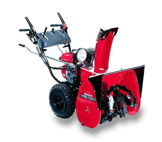 Angebote                                          Schneefräsen:                     Honda - HS 760 K1 (Schnäppchen!)