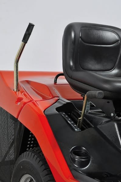 Fangkorbentleerung vom Fahrersitz aus