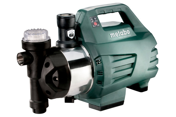 Hauswasserautomaten:                     Metabo - HWAI 4500 Inox