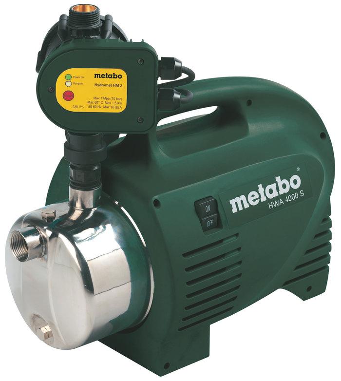 Hauswasserautomaten:                     Metabo - HWA 4000 S