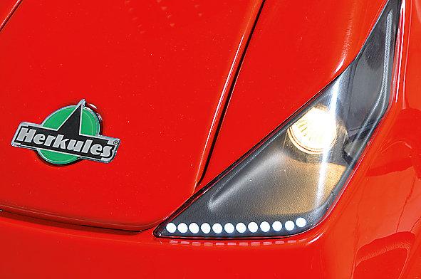 Halogenscheinwerfer mit LED-Tagfahrlicht