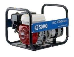 Stromerzeuger:                     SDMO - HX 3000